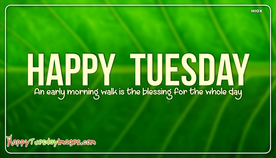 Happy Tuesday Blessings Images