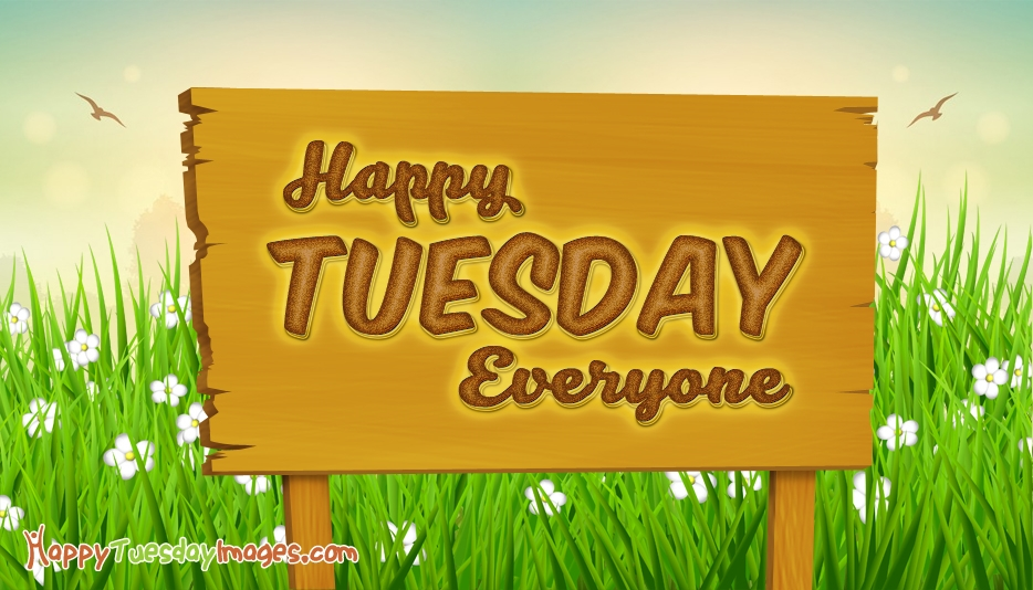 Happy Tuesday Everyone @ HappyTuesdayImages.com