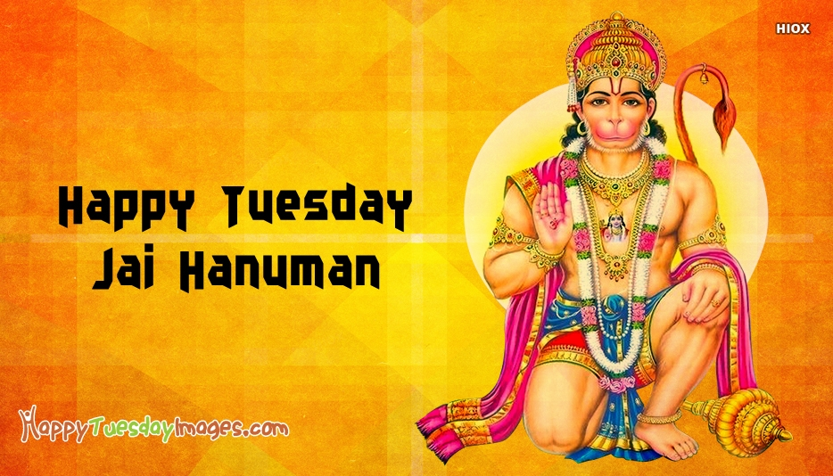 Happy Tuesday Hanuman Cards