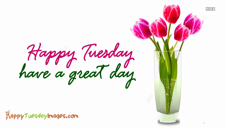 Happy Tuesday Have A Great Day Images, Pictures