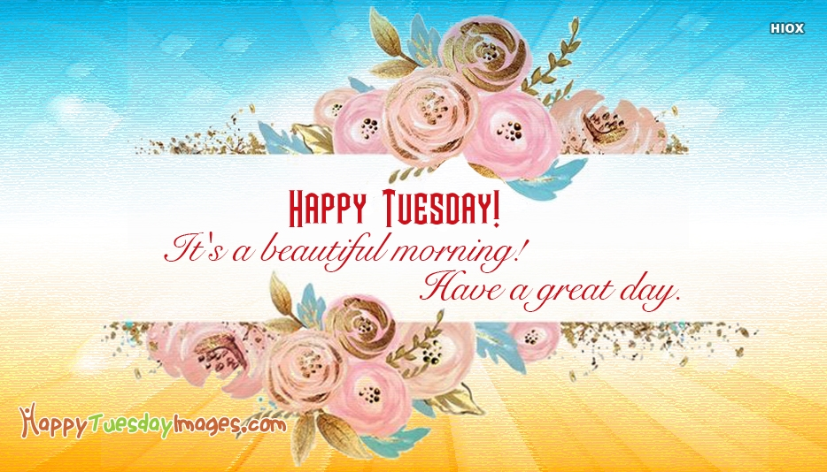 Happy Tuesday Colorful Images