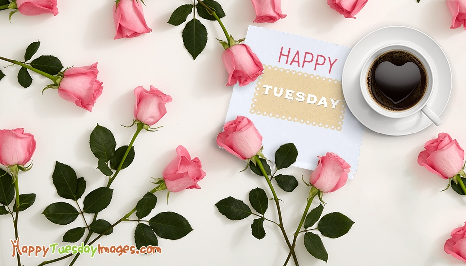 Happy Tuesday with Roses @ HappyTuesdayImages.com
