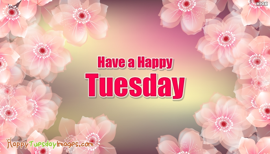 Have a Happy Tuesday - Happy Tuesday Images for Friends
