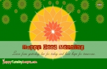 Happy Good Morning Sms In English