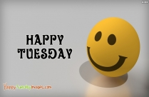 Happy Tuesday Emoji
