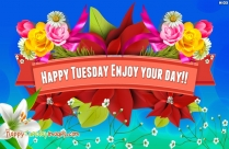Happy Tuesday Greetings Images