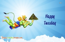 Happy Tuesday Hanuman