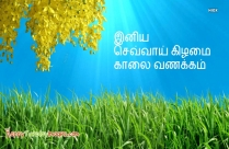 Happy Tuesday In Tamil