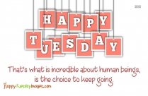 Happy Tuesday Inspirational Images