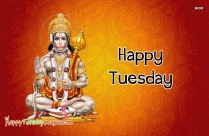Happy Tuesday Jai Hanuman