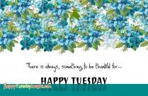 Happy Thankful Tuesday