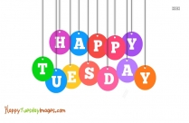 Happy Tuesday Status Image