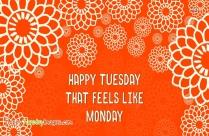 Happy Tuesday Keep Warm