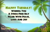 Happy Tuesday SMS | Wish You
