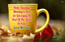 Have A Nice Tuesday Wishes