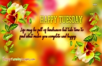 Happy Tuesday Pictures Quotes | Small Steps Everyday