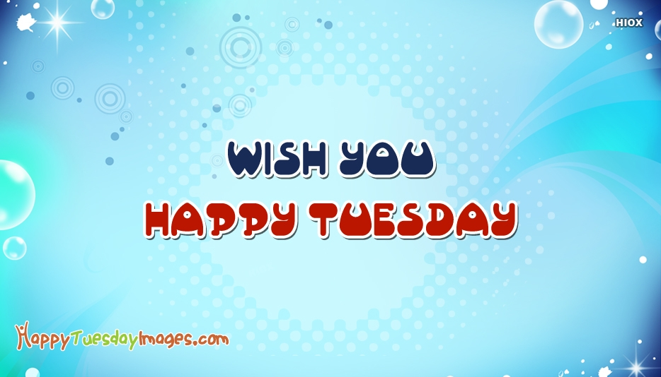 Wish You Happy Tuesday