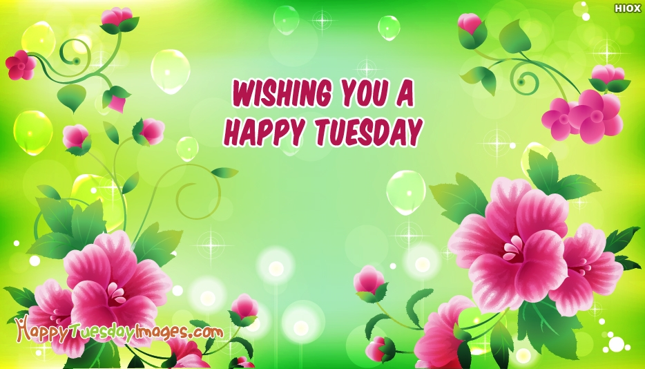 Wishing You a Happy Tuesday - Happy Tuesday Images for Wallpaper